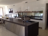 KITCHEN WITH CONCRETE TOPS